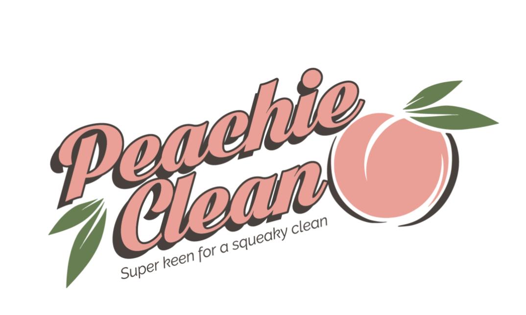 peachie clean logo